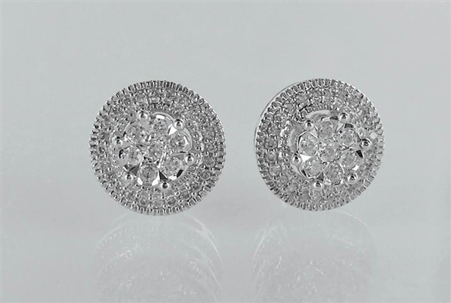 Image for Win This Gorgeous Pair of Diamond Earrings in Time for Valentine's Day