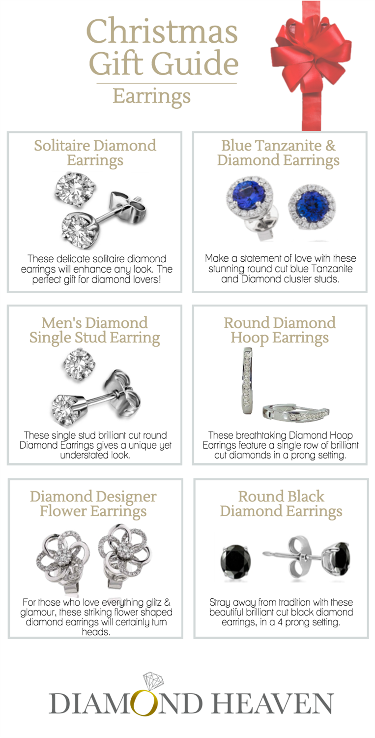 Diamond Earrings Gift Guide