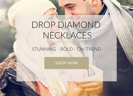 Drop Diamond Necklaces