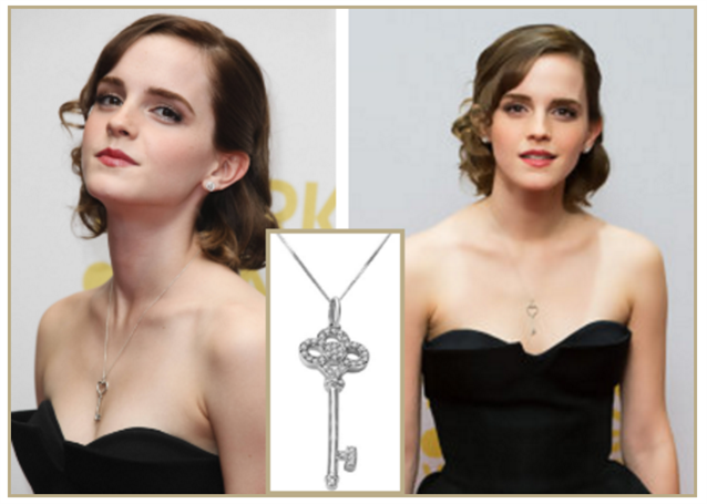 Image for 5 Celebrity Inspired Ways to Wear a Diamond Necklace