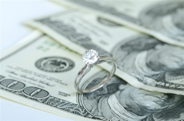 Image for How Much Should You Spend On An Engagement Ring?