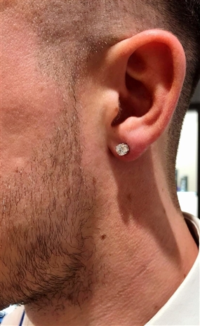 Image for  Men's Diamond Earrings - A Guide to Wearing & Buying