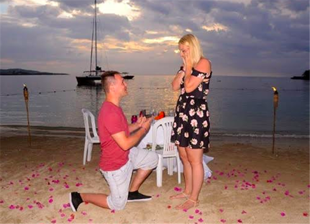 Image for Beach Wedding Proposal Ideas