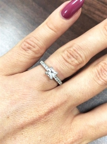 Image for Famous Princess Cut Engagement Rings