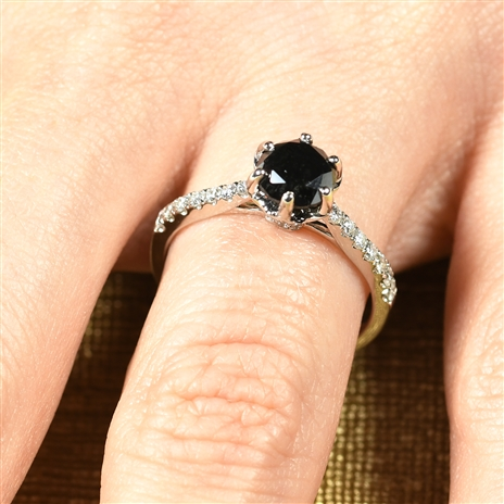 Image for Why We Love Black Diamond Engagement Rings