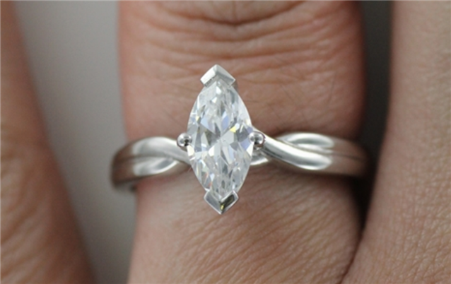 Image for Engagement Rings for Minimalist Brides (or Grooms) To Be