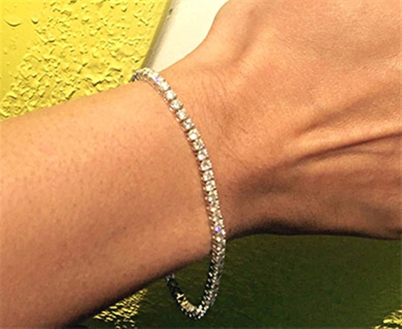 Image for Why Is A Tennis Bracelet Called A Tennis Bracelet?