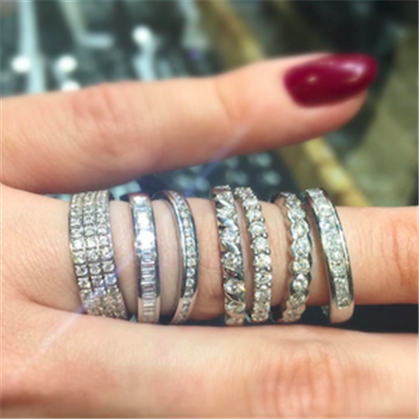 What Do Eternity Rings Symbolise Diamond Heaven