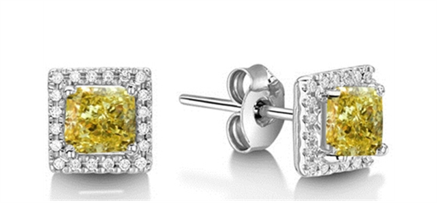 Image for Yellow Diamond Earrings & Pendants: New Collection