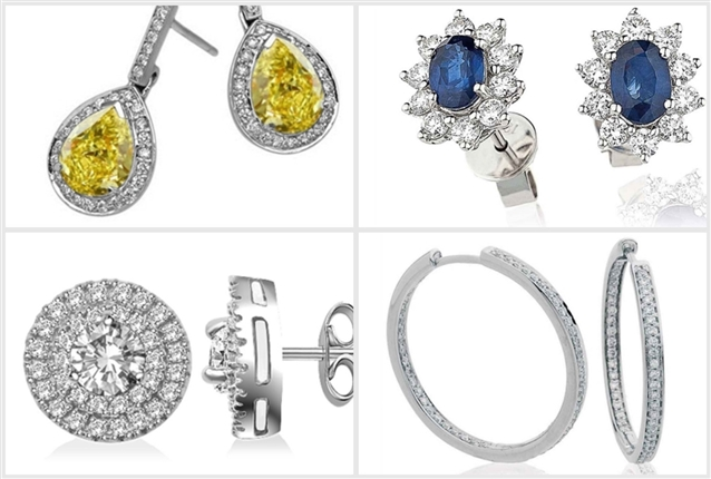 Image for Diamond Earrings: The Perfect Christmas Present