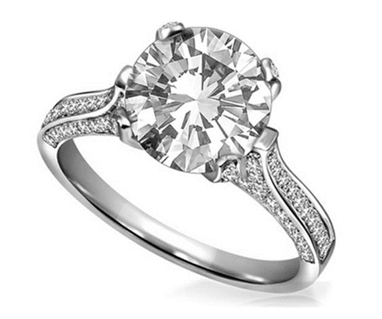 the rise in popularity of platinum engagement rin