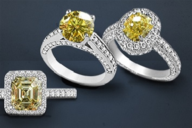 Image for Dazzle with Yellow Diamonds
