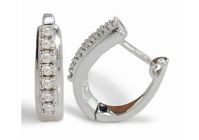 Image for Why Buy Diamond Hoop or Drop Earrings?