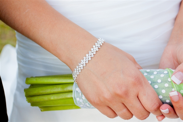 Image for Showcase or Stack: Two Ways To Style Your Tennis Bracelet
