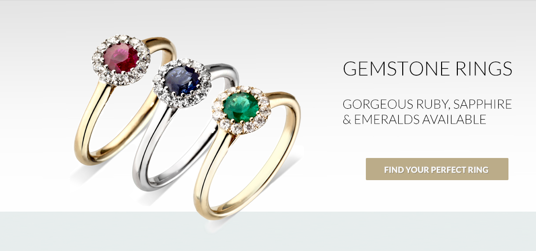 Gemstone Rings - Gorgeous Ruby, Sapphire and Emeralds Available