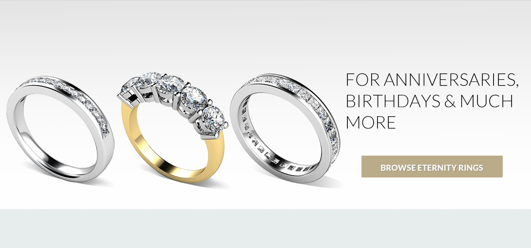 Eternity Rings - for anniversaries, birthdays and much more