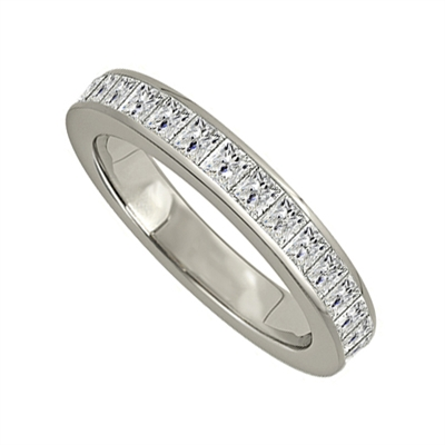 1.50ct Elegant Princess Diamond Full Eternity Ring DHJXE01004FETCPRN Image