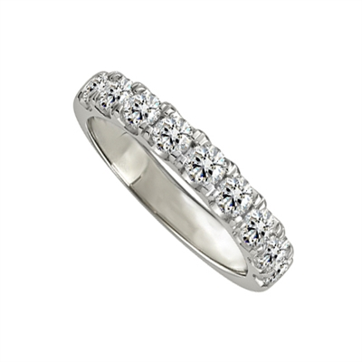 1.00ct Elegant Round Diamond Eternity Ring DHJXM8620HETPRND Image