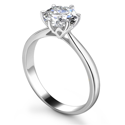 Round Diamond Engagement Ring DHRX3957 Image