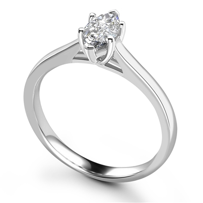 Marquise Diamond Engagement Ring DHRX7411 Image