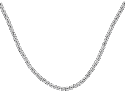 10.00CT Round Diamond Tennis Necklace DHRN6CTA10 Image