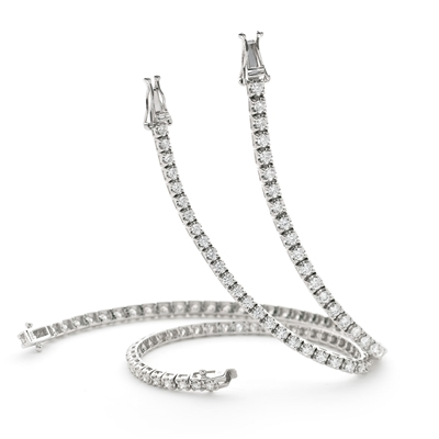 1.25ct Classic Single Row Diamond Tennis Bracelet DHLMJBL7706 Image