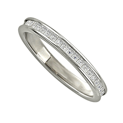 Princess Diamond Full Eternity Ring DHJXE01001FETCPRN Image