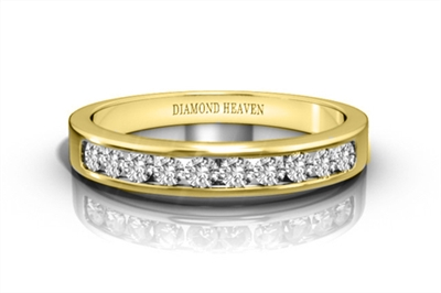 Classic Round Diamond Eternity Ring DHRZ0449 Image