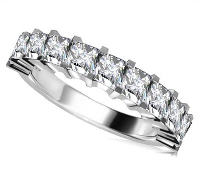 Classic Princess Diamond Eternity Ring DHRZ0150 Image