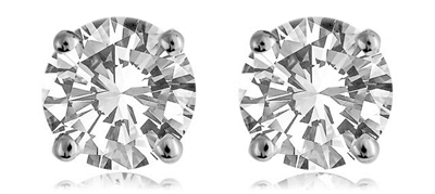 0.30CT VS/F Round Diamond Stud Earrings DHDOMECR4/BSD078 Image