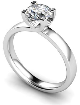 Round Diamond Engagement Ring DHMTSS649 Image