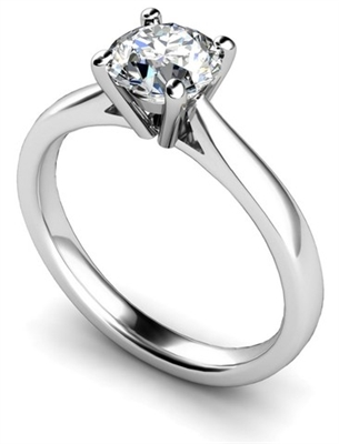 Round Diamond Engagement Ring DHMTSS610 Image