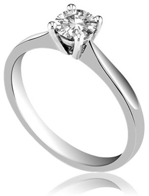 Round Diamond Engagement Ring DHMTSS501 Image