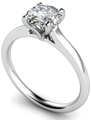 Round Diamond Engagement Ring DHMTSS654R Image