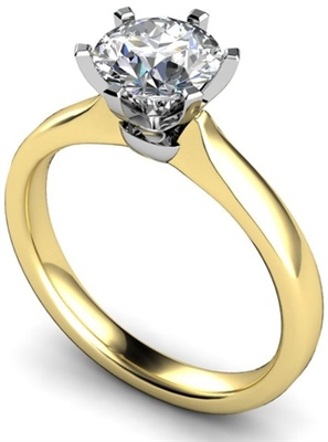 Round Diamond Engagement Ring DHMTSS841 Image