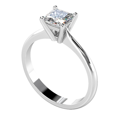 Princess Diamond Engagement Ring DHDOMCX21SE42 Image