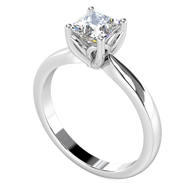 Princess Diamond Engagement Ring DHDOMCX28AS9 Image
