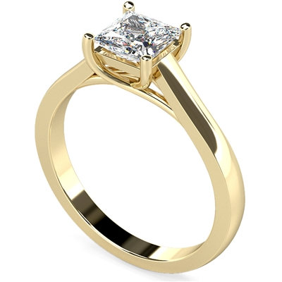 Princess Diamond Engagement Ring DHDOMR1136 Image