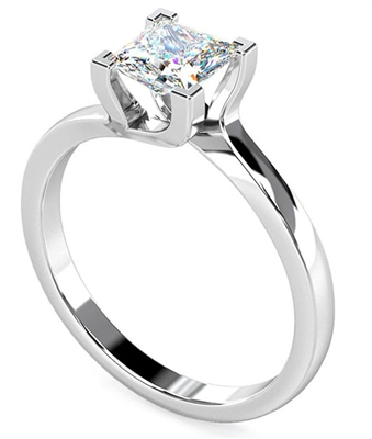 Princess Diamond Engagement Ring DHDOMR1139 Image