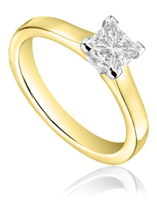 Princess Diamond Engagement Ring DHDOMCX17SG41 Image