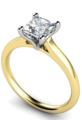 Princess Diamond Engagement Ring DHMTSS654P Image