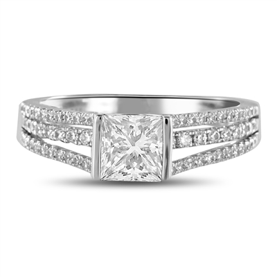 Princess Diamond Vintage Ring DHDOMDSX14 Image