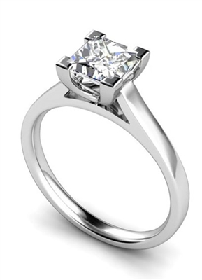 Princess Diamond Engagement Ring DHMTSS667 Image
