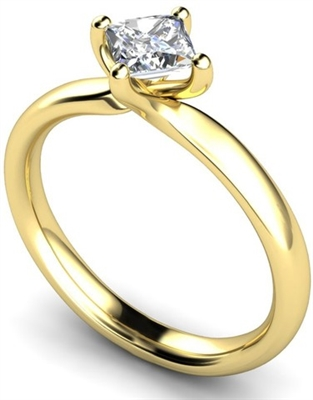 Princess Diamond Engagement Ring DHMTSS810 Image