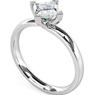 Princess Diamond Engagement Ring DHMTSS839 Image