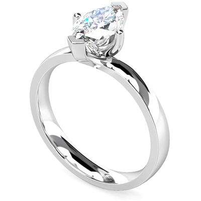 Marquise Diamond Engagement Ring DHDOMR1146 Image