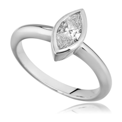 Marquise Diamond Engagement Ring DHDOMR1293 Image