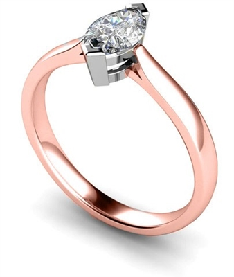 Marquise Diamond Engagement Ring DHMTSS489 Image