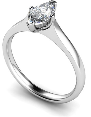 Marquise Diamond Engagement Ring DHMTSS645 Image
