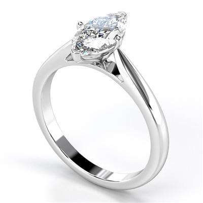 Classic Marquise Diamond Engagement Ring DHRX3988 Image